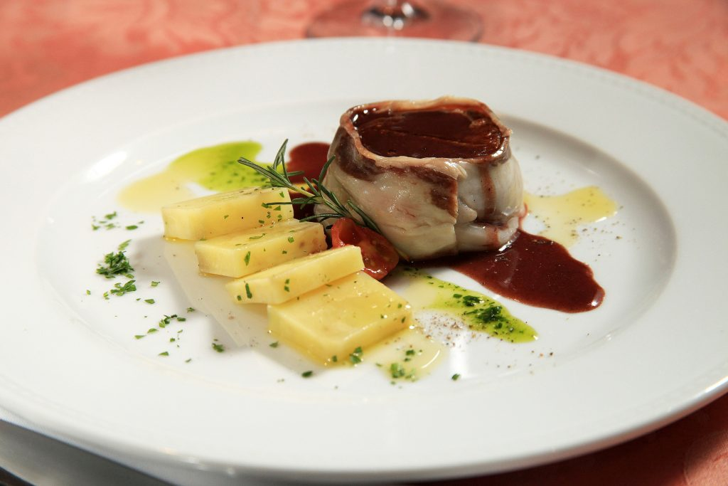 Filet mignon ao Lardo di Colonatta