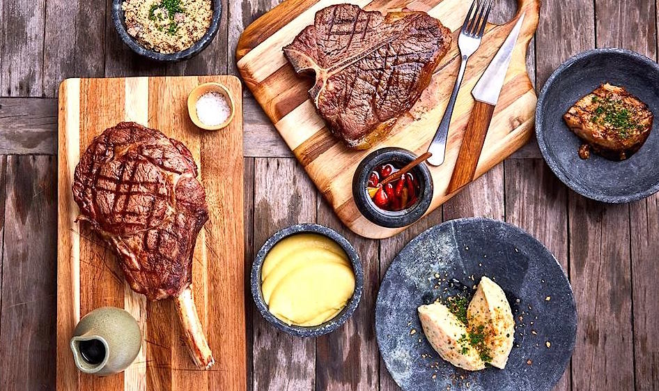 Cór tem deliciosos cortes de carne na brasa, no Alto de Pinheiros